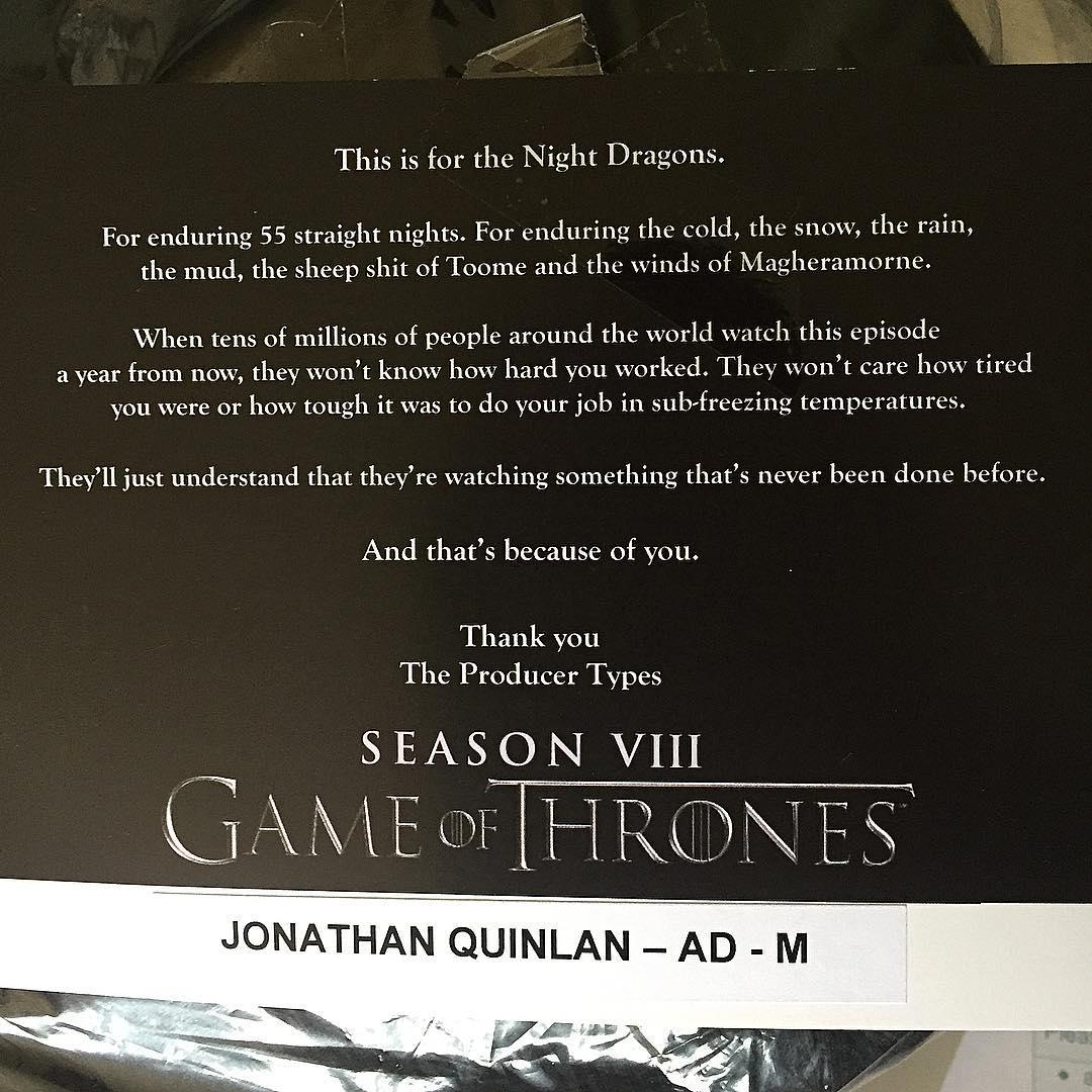 Game Of Thrones | Finalizadas as gravações da maior batalha até hoje