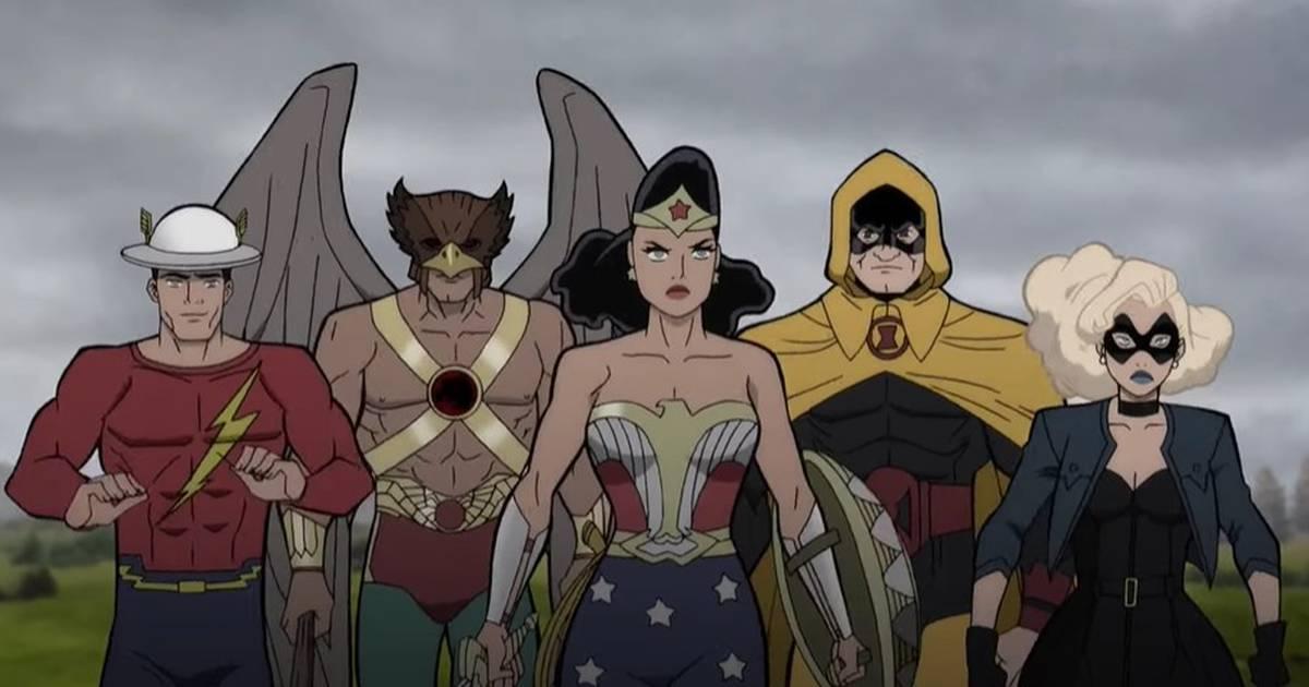 Sociedade da Justiça enfrenta nazistas no trailer de animação da DC