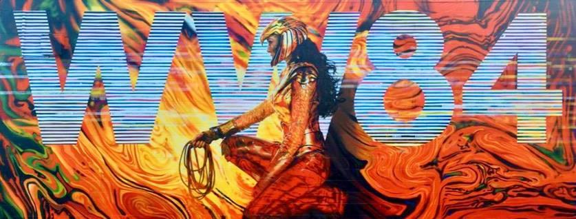Banner de Mulher-Maravilha 1984