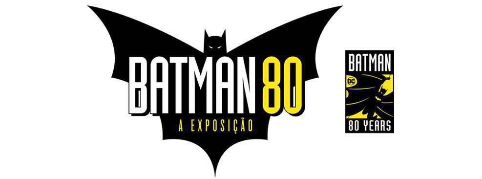 Logo da exposição Batman 80/Divulgação