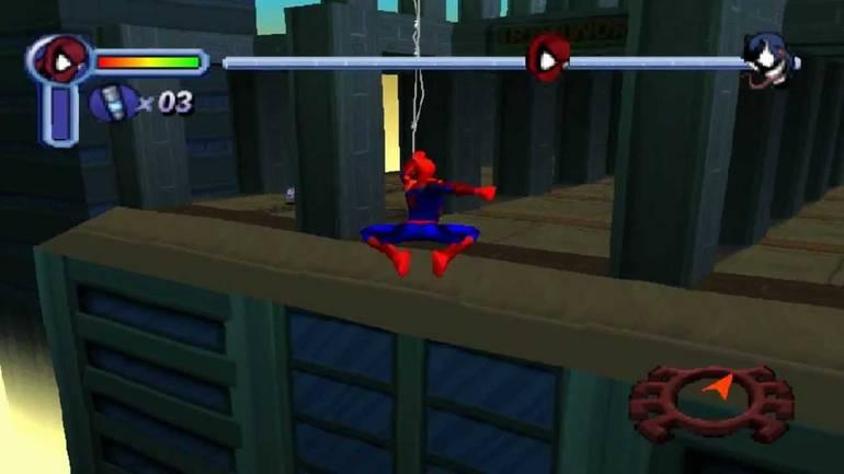 Spider Man Videogame 2000