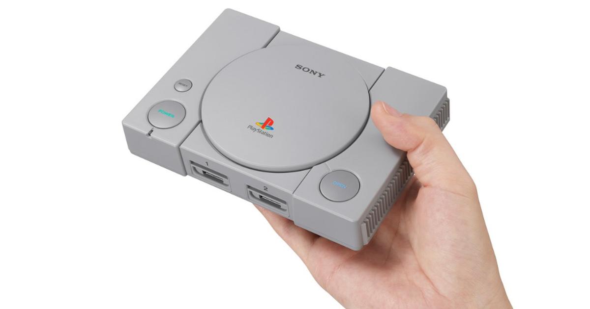 Resultado de imagem para PlayStation original ganhará versão miniatura com 20 jogos na memória