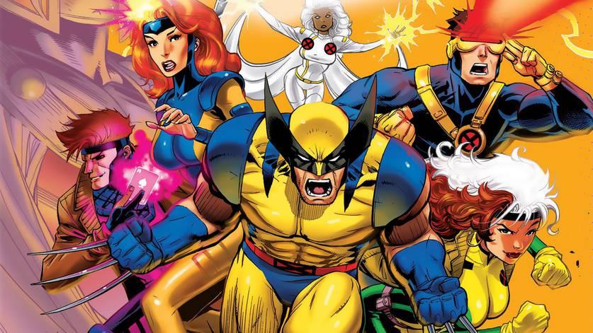 X-Men reunidos em revista da Marvel Comics