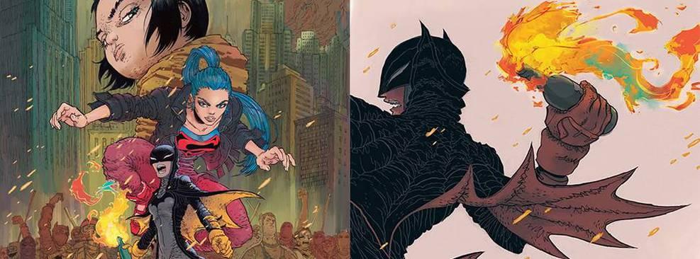 Batman   DC Comics revela capas da nova HQ de Frank Miller e Rafael Grampá