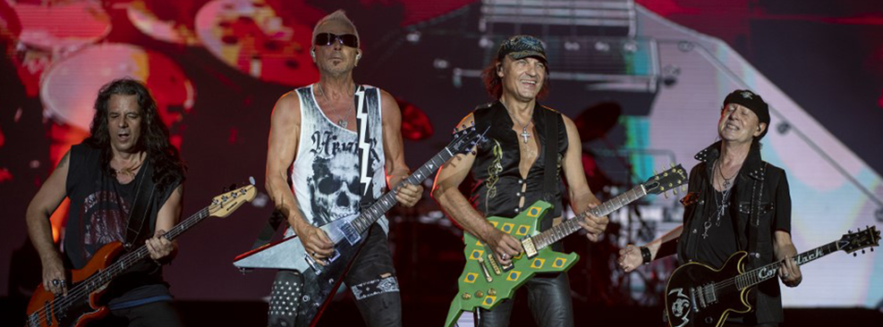 Scorpions no Rock In Rio/Mauro Pimentel/AFP